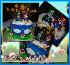 Tarta Mario Bros.