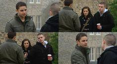 Adam Barton (Adam Thomas), Holly Barton (Sophie Powles) & Aaron Livesy (Danny Miller)