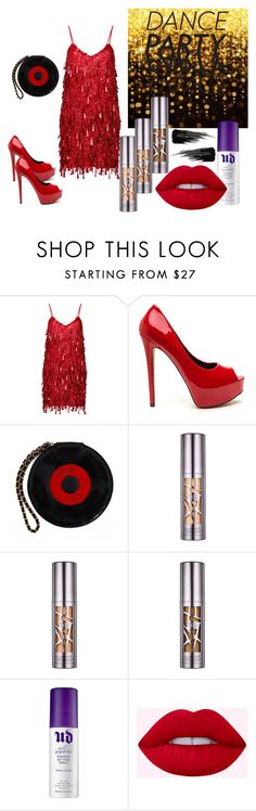 """NYE Dance Party 2016"" by amberandamethystblog on Polyvore featuring Ashish, Chanel and Urban Decay"