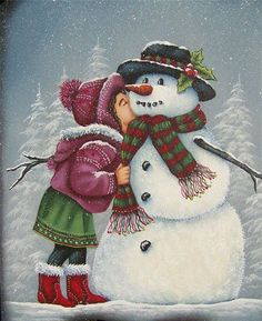 ~a kiss for Frosty~