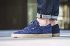 Obsidian Suede Covers The Nike Match Classic