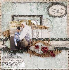 Heartfelt Creations | Remember The Time Layout