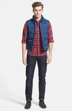 0396c447c75a51 Rugged Outdoor Outfit | Mens Winter Fashion Winter Vest, Mens Winter,  Outdoor Outfit,