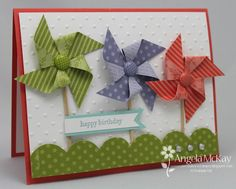 Beautiful 3D card from Angela McKay