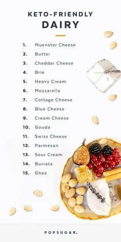 Cheese-Lovers, Here's All the Dairy You Can Eat on the Keto Diet - Die Rezepte Best Healthy Diet, Best Keto Diet, Healthy Diet Recipes, Keto Snacks, Beef Recipes, Chicken Recipes, Healthy Eating, Meatloaf Recipes, Stay Healthy