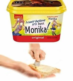 "Introducing the brand new ""butter"" brand! The creator, Monika made this just for you! Because its just Monika, only Monika"