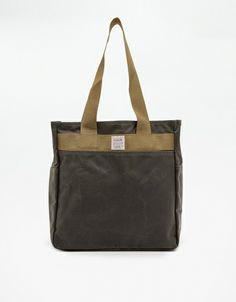 Green Tin Cloth Tote Bag