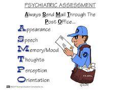 Nursing School: Psychosocial Mnemonics
