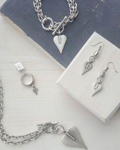Jewelry, rings, silver, danon, earrings, bracelet, necklace
