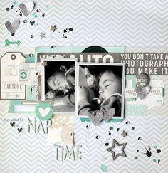 ♥ Amélie Mordret Scrapbooking et Photographie ♥: {DT Hip Kit Club - Mes deux premières créations!}