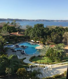 View from Grand Papagayo Costa Rica.