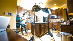 Cooking Recipe Video Production Setup - Timelapse