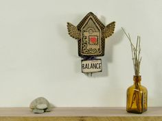 House Blessing Wall Hanging  House Warming New by TattooDreams, $68.00