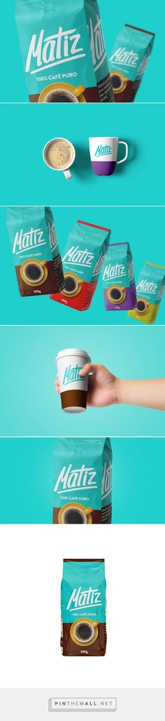 Café Matiz (Concept) - Packaging of the World - Creative Package Design Gallery - http://www.packagingoftheworld.com/2017/07/cafe-matiz-concept.html