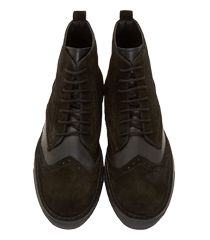 Suede high top sneakers AD Anne Demeulemeester