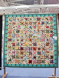 Lorena's Quilt, via Flickr.  Block patterns from book by Chuck Nohara.....Wow!