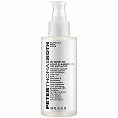 Black Friday Peter Thomas Roth AHA/BHA Acne Clearing Gel, 3.4 Ounce from Peter Thomas Roth