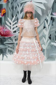Chanel Haute Couture Spring 2015.