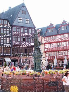 Old Germany in a vibrant city - Frankfurt