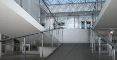 Sistema modular de barandillas con vidrio