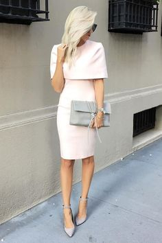 The Elliatt Elevate Light Pink Midi Dress is rising up high in the fashion ranks thanks to its unique, chic style! A structured tier falls from a rounded neckline to form cape sleeves atop a figure-flaunting bodice composed of medium-weight, stretch knit. Modest midi skirt with kick pleat. Hidden back zipper. As Seen On McKenna of @mckennableu!