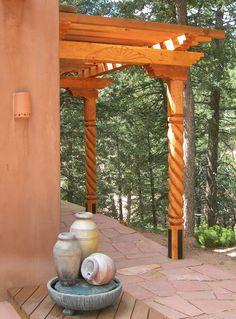 Porch - Southwest Post Designs LLC