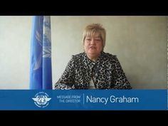 Message from Nancy Graham, Director, ICAO Air Navigation Bureau United Nations General Assembly, Civil Aviation, December 7, Graham, Messages, Text Posts, Text Conversations