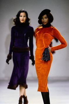 Azzedine Alaïa Fall 1991 Ready-to-Wear Collection Photos - Vogue, Model: Beverly Peele