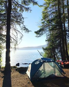 Camping in Oregon at