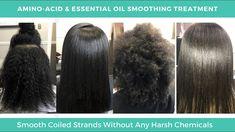 Smoothing Hair Treatment | Amino Acid Smoothing Treatment  Smoothing Hair Treatment for Natural Hair