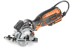 Electric circular saws are designed to help woodworkers make that precise rip-cut, cross-cut, a combination of both among other tasks. Worm Drive Circular Saw, Mini Circular Saw, Compact Circular Saw, Circular Saw Reviews, Cordless Circular Saw, Electrician Tool Bag, Rip Cut, Buy Tools, Metal Shop