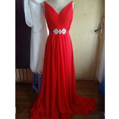 Red+prom+dress,+v+neck+prom+dress,+long+prom+dress,+chiffon+bridesmaid+dress,+cheap+prom+dress,+formal+prom+dress,+charming+bridesmaid+dresses,+NDS402  This+long+prom+dress+could+be+custom+made,+there+are+no+extra+cost+to+do+custom+size+and+color.  Description+of+long+prom+dress 1,+Material:...