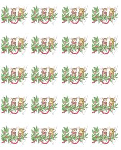 """1 Sheet of 20 Square Stickers"", Stock #: SS-C70, from House-Mouse Designs®. This item was recently purchased off from our web site. Click on the image to see more information."