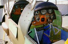 Tiger moth cockpit