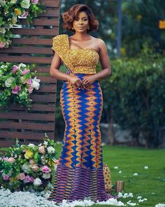 Sima Brew Presents A Haute OBAAPA Collection For Brides; See It Here | FashionGHANA.com: 100% African Fashion