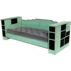 1920's Art Deco daybed