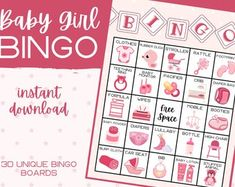 Baby Shower Find The Guest Bingo Baby Bingo Cards Baby | Etsy Baby Shower Prizes, Fun Baby Shower Games, Baby Shower Bingo, Baby Shower Printables, Birthday Games For Kids, Kids Party Games, Bingo Cards, Printable Cards, Google Drive