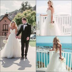 Beach Wedding Dresses 2016  From Molly_bridal, $148.75| Dhgate.Com