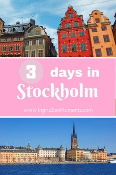 Love at first sight - Three days in Stockholm - IngridZenMoments | what to do and see in Stockholm in 3 days | stockholm attractions | where to stay in Stockholm