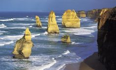 One of the most beautiful places I have ever been.  The great ocean road in Australia
