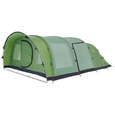 The Coleman Fastpitch Air Valdes 6XL Tent 6 Person Inflatable Tent This 6 berth family Tent  sc 1 st  Pinterest : 6 berth pop up tent - memphite.com
