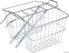 Bike Baskets - Wald 520 Rear Twin Bicycle Carrier Basket 135 x 625 x 11 * Check this awesome product by going to the link at the image. Rear Bike Basket, Bicycle Rear Rack, Bicycle Basket, Bike Baskets, Palm Spring Condo, Twin Carrier, Biker Boys, Bike Trailer, Cheap Toys