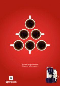 Nespresso -christmas-ads