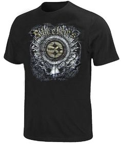 Pittsburgh Steelers Slim Fit Supremacy Strategy T Shirt By Team Apparel M38 * Check out this great product.