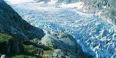 Folgefonna glacier in Hardanger, Norway. Photo by Folgefonna National Park Centre