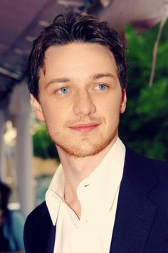 actor James McAvoy - I particularly liked him in the movie, Atonement, which was terrific