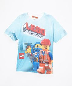 Another great find on #zulily! Blue LEGO Movie Character Tee - Boys #zulilyfinds