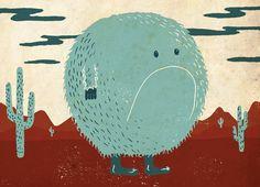 A Beast Every Week | Illustrator: Sam Brewster - http://www.sambrewster.com