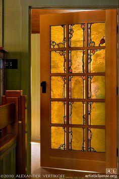 6 Attractive Hacks: Bedroom Remodel Diy Home rustic bedroom remodel offices.Bedroom Remodeling Mobile Home kids bedroom remodel easy diy. Craftsman Door, Craftsman Interior, Craftsman Style, Interior Doors, Craftsman Houses, American Craftsman, Stained Glass Door, Leaded Glass, Glass Doors