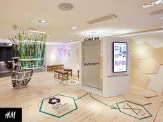 POP-UP STORES! H&M: Conscious Lounge Pop-Up by FormRoom, London – UK » Retail Design Blog